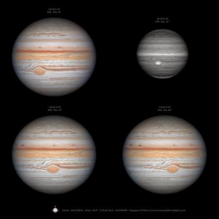 Jupiter on August 11, 2021