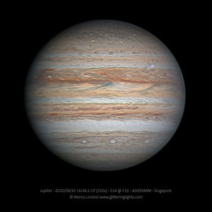Jupiter and NTB outbreak on August 20, 2020