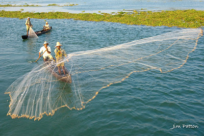 Fishing in Southern India