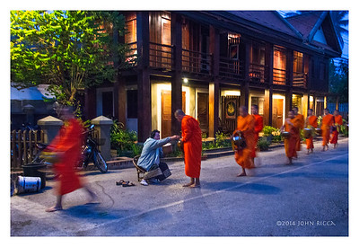 Tak Bat (Alms Giving) 1, Luang Prabang, Laos
