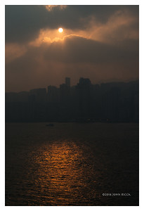 Sunrise, Hong Kong