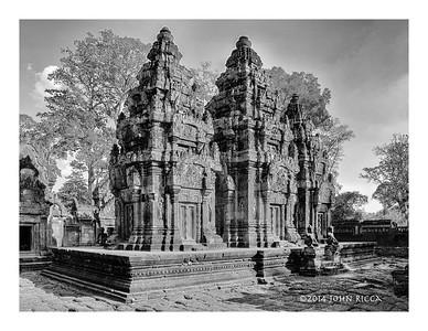 Temple, Koh Ker, Cambodia