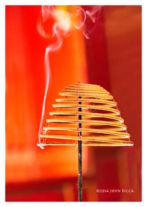 Incense, Hanoi, Vietnam