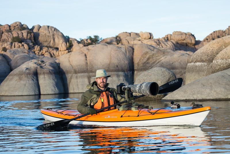 """""""Kayaking Watson Lake"""""""