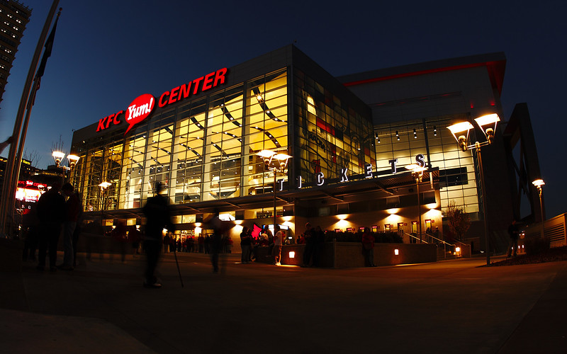 KFC Yum! Center Opening Game