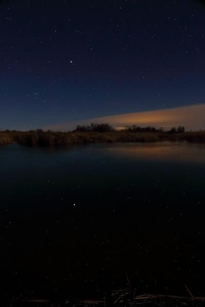 Reflecting  stars