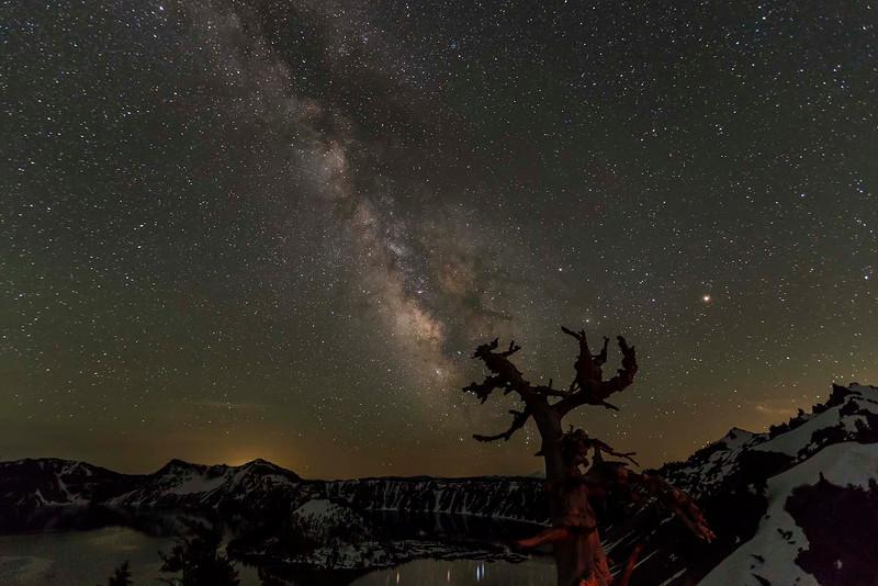 Milky Way, Crater Lake NP, Oregon