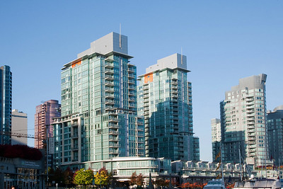 Condos at Coal Harbour, Vancouver BC