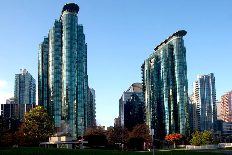 A view from Coal Harbour - Vancouver BC