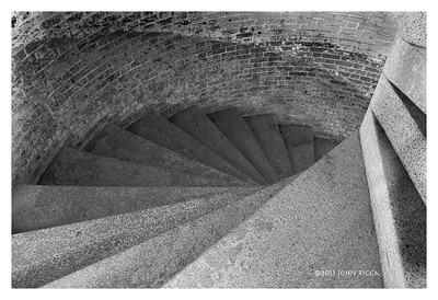 Fort Point Staircase
