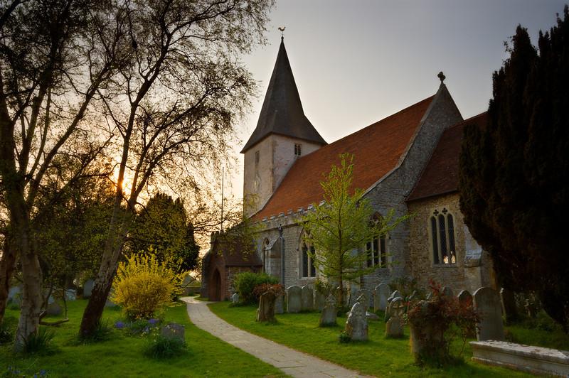 Bosham church, West Sussex