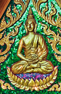 Temple Detail Koh Samui, Thailand