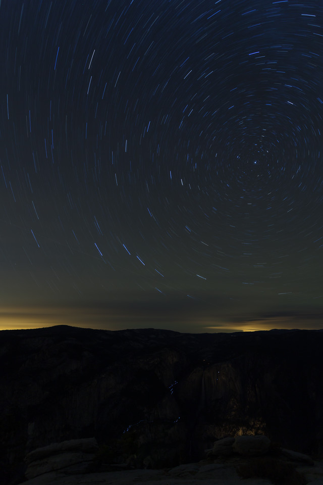 Climbers and Startrails