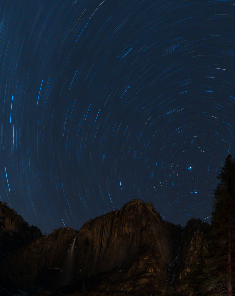Falls and Startrails
