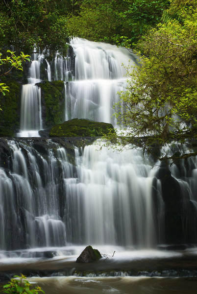 Parakanui Falls, The Catlins, New Zealand
