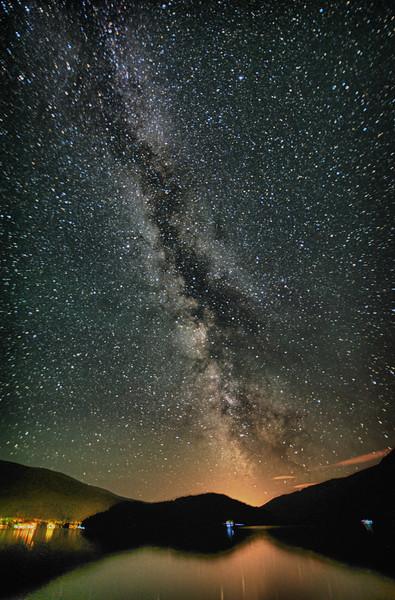 Milky Way, Shuswap's, British Columbia, Canada