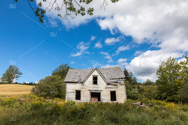 Derelict house in New Brunswick