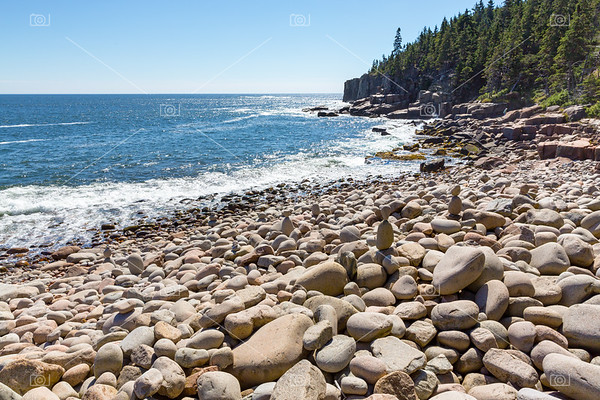 Boulder Beach, Acadia National Park, USA