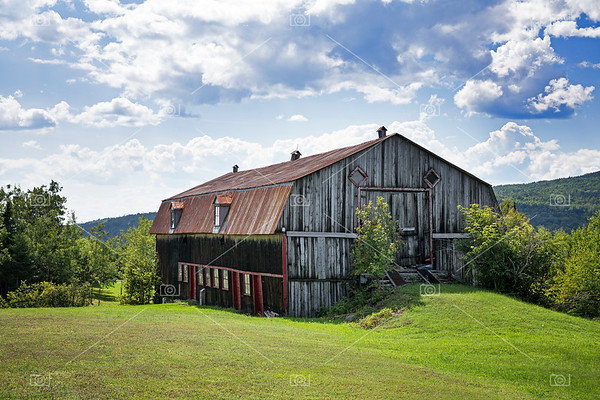 Old barn, La Malbaie