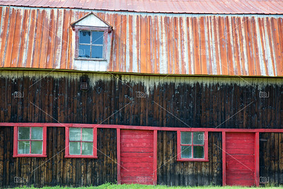 Old barn detail