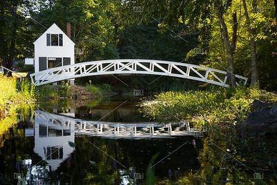Wood bridge, Somesville