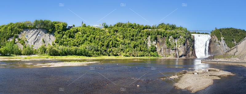 Montmorency Falls pano