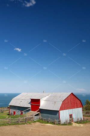 Tin barn, La Malbaie