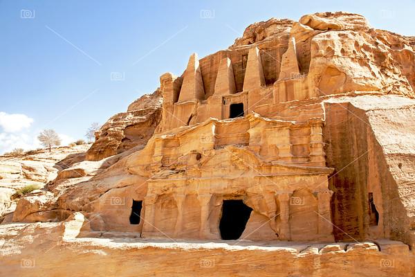 Petra cave dwellings