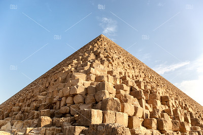 Giza pyramid detail