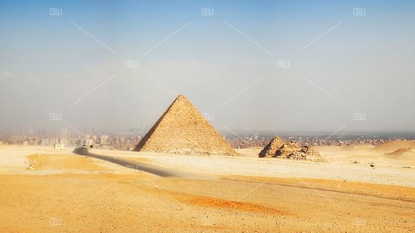 Pyramid pano