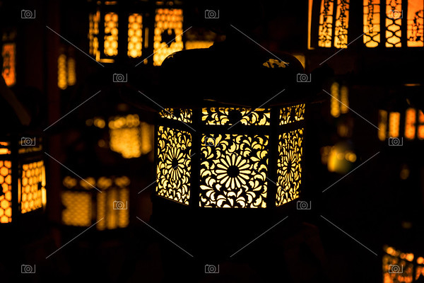 Japanese Temple Lanterns.
