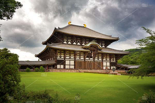 The Todai-Ji Temple of Nara