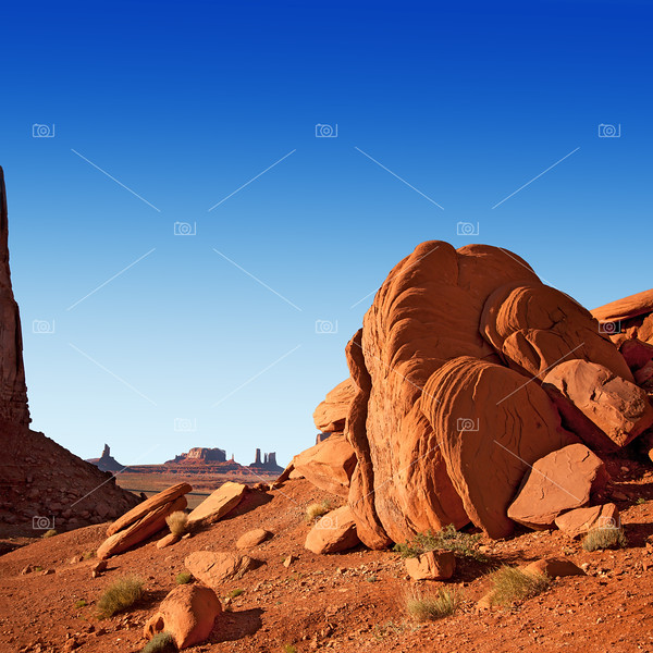 Monument Valley rocks