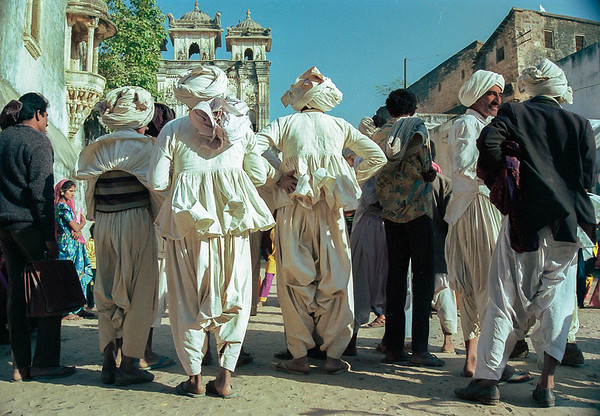 Rajasthani or Gujarati villagers
