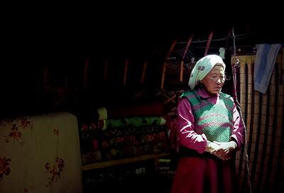 Kazakh? lady, Xinjiang