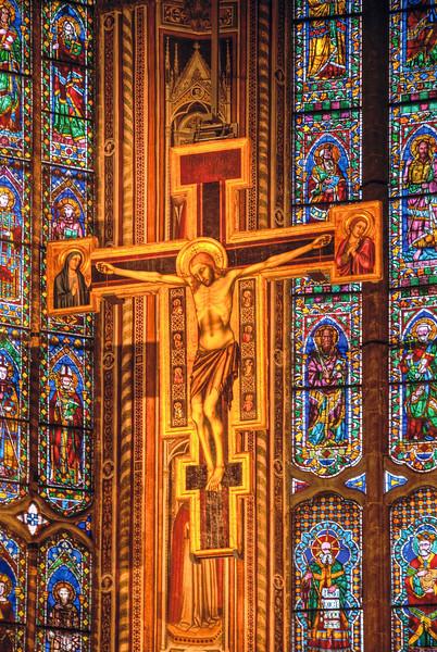 Crucifix over the High Altar in Santa Croce