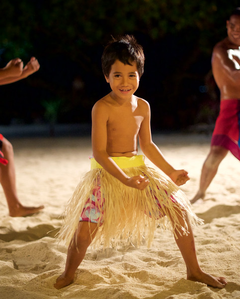Young dancer at Le Ficus