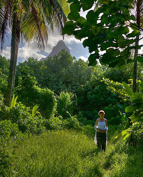 Faithie on Bora Bora