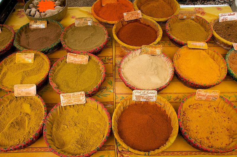 Spices at Lourmarin
