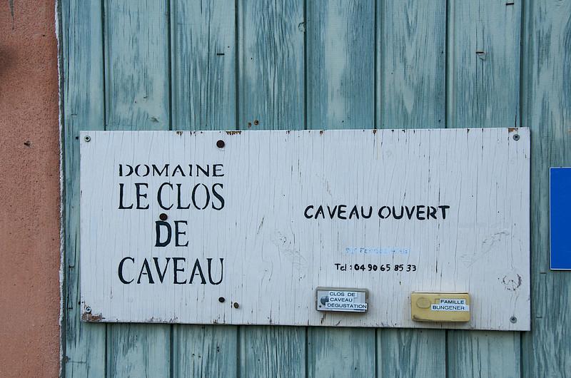 Vacqueyras winery