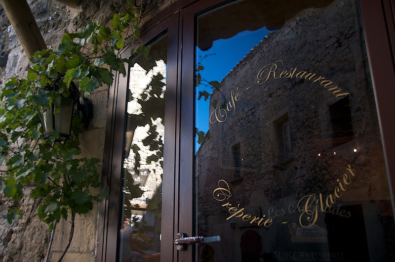 Doorway in Les Baux-de-Provence