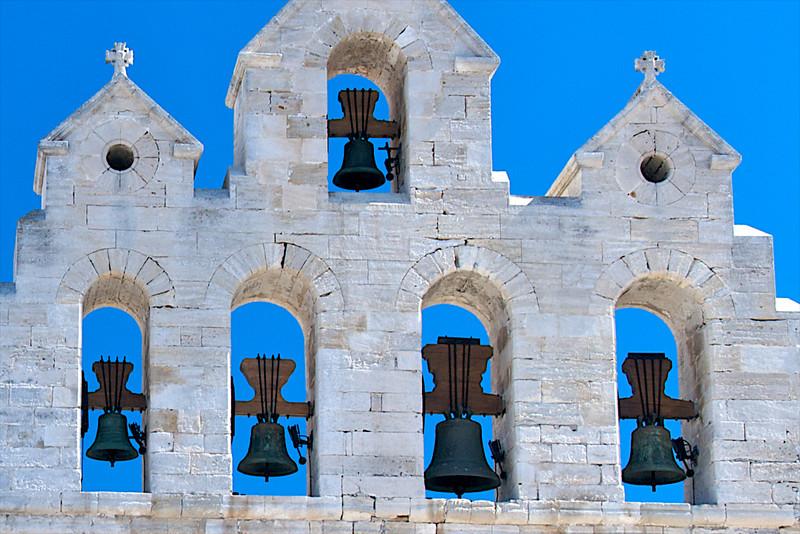 Bell tower in Stes-Maries-de-la-Mer