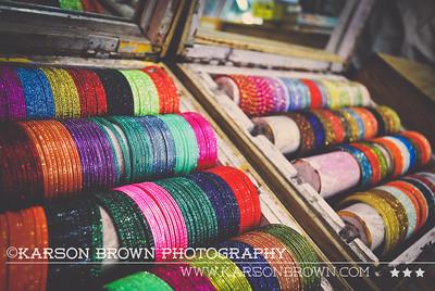Buying Bangles - Agra, India 2009  ©Karson Brown Photography