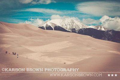 Great Sand Dunes - Mosca, Colorado  ©Karson Brown Photography