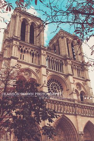Notre Dame - Paris, France 2010  ©Karson Brown Photography