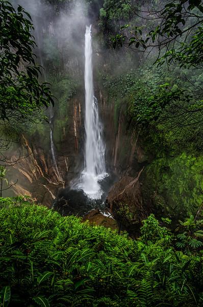 WAb335 Catarata Del Toro Waterfall, Sarchi, Costa Rica