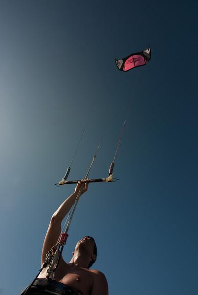 PD127 Kiteboarder and Kite, Merritt Island, FL