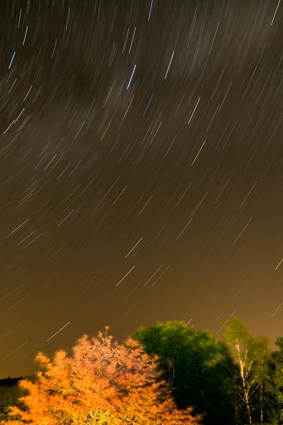 Starry Night #2, Camden, ME