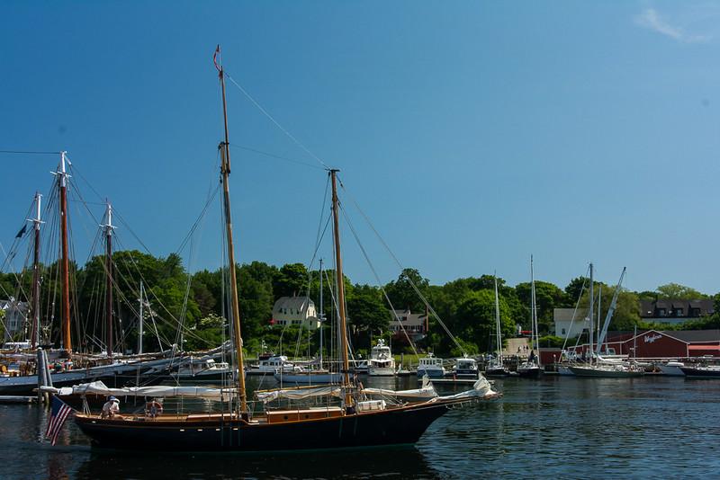 Camden Harbor Boats