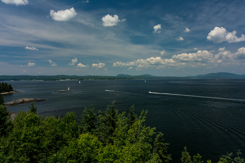 View from Owls Head Light, Owls Head, ME